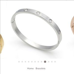 The Styled Collection Eternity Bracelet